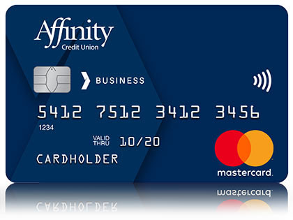 Blue Affinity Credit Union Mastercard for Business