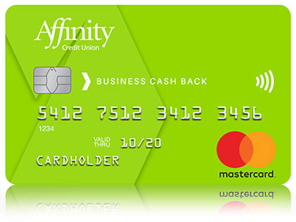 Green Affinity Credit Union Mastercard for Business