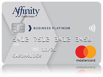 Silver Affinity Credit Union Mastercard for Business